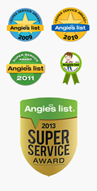 Angie's List Super Service 5 years in a row